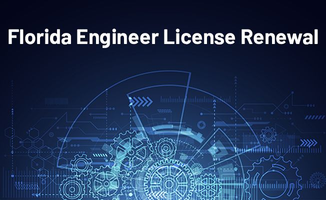 Florida Engineer License Renewal